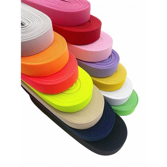 Renkli Dokuma Lastik 3 cm