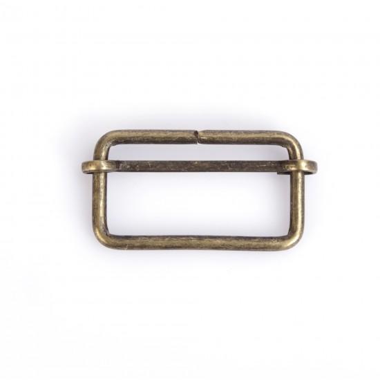Kalın Metal Sürgülü Ayar Tokası 5 cm