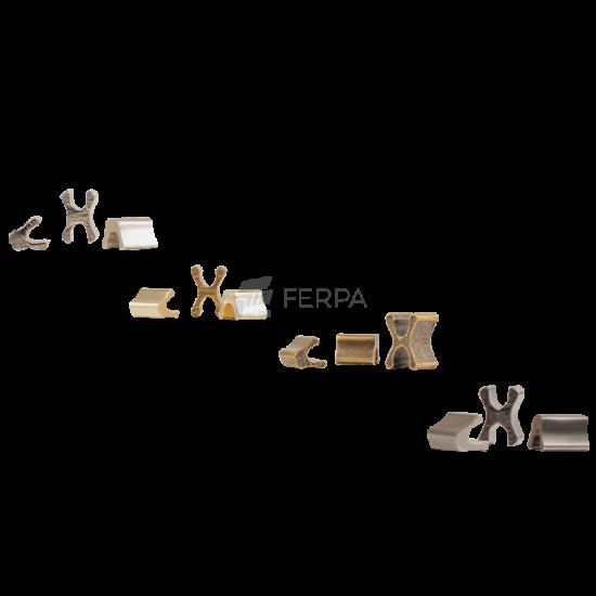 Kemik Şerit Fermuar Renkli Tip 6 ve Kürsör