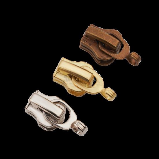 Tip 5 Kancalı Metal Fermuar Kürsörü