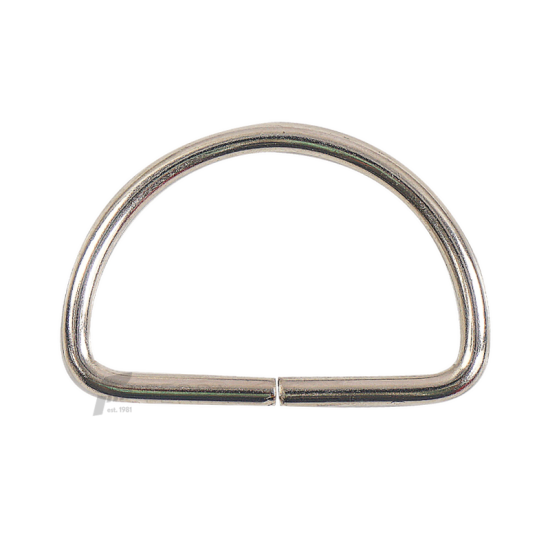 5 cm Metal D Halka Paketi