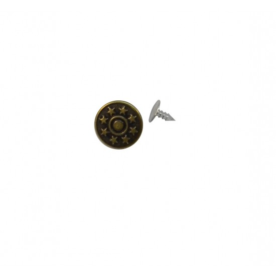 Metal Kot Düğmesi