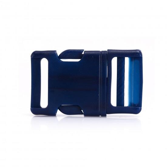 Plastik Oval Kilit Lacivert (28MM)