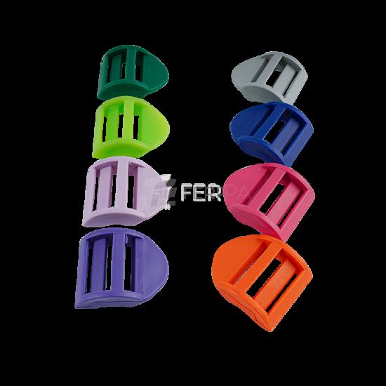 Plastik Merdiven Ayar Tokası Renkli 2.5 cm